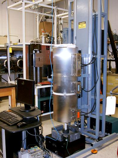 The Computer Controlled Vertical Bridgman Slant Furnace.
