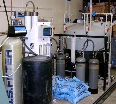 U.S. Filter De-Ionizing System