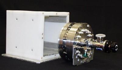 Side view of the Instrumentation Associates neutron GEM.