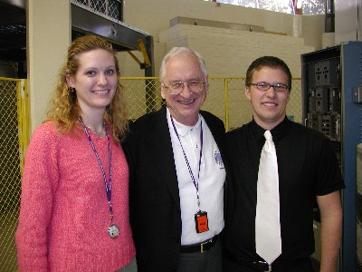 Katy Bors, Dr. Foulkes, and Troy Unruh.