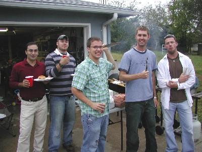 Alireza Kargar, Steven Bellinger, Troy Unruh, Andy Fund and Justin Lowrey.