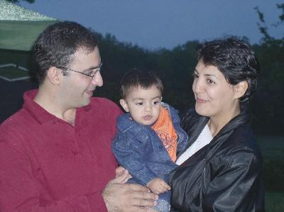 Alireza, Neakon, and Faranak Kargar.