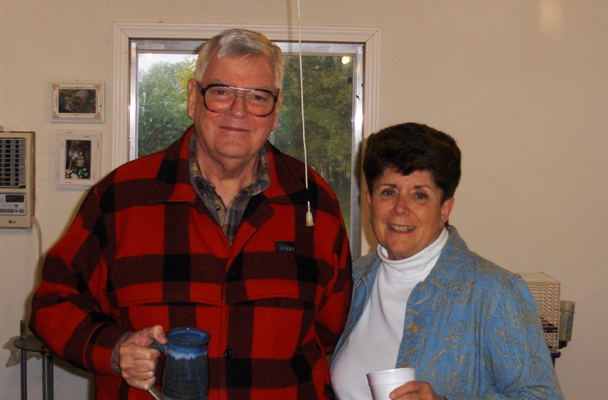 Prof. Ken Shultis and his wife Sue.