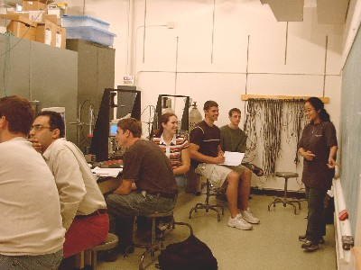 The Radiation Detection Instructional Laboratory (RDIL) is used to instruct undergraduate and graduate students on the principles of radiation detectors and detection methods.